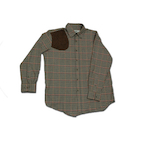 Boyt HU1750 District Check Shirt With Suede Shooting Pad