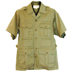 Boyt SA550 Khaki Short Sleeve Safari Jacket